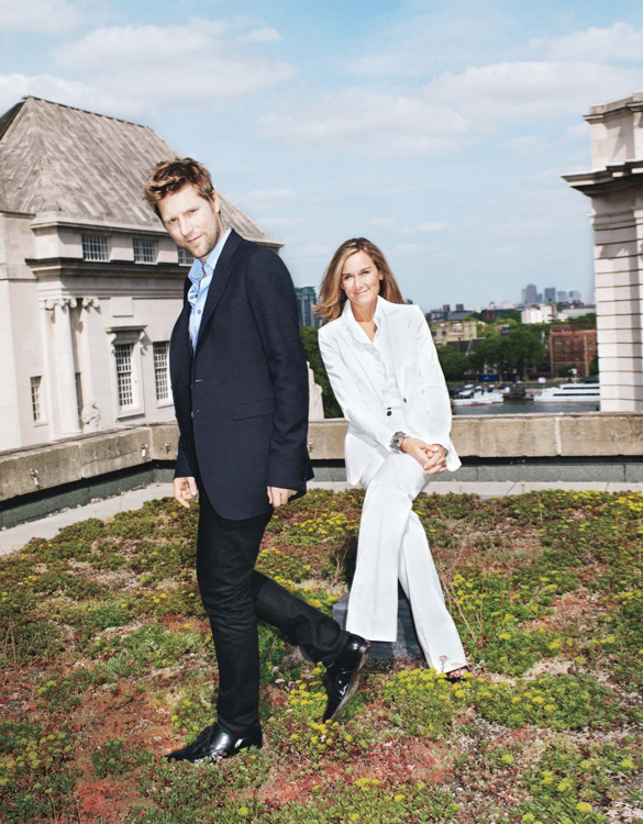 Christopher Bailey & Angela Ahrendts